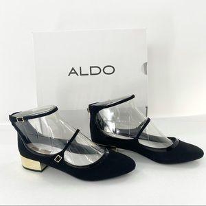 ❤️NIB❤️ Aldo flats- Ambrosea Black